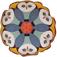 Orwell and Goode - Owl Piped Cushion - 16inch