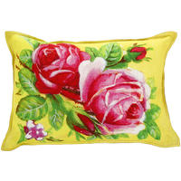 Pip Studio - Art Yellow Roses Cushion - 40x60cm