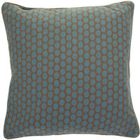 Pip Studio - Big Dots Khaki/Blue Cushion - 50x50cm