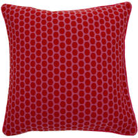 Pip Studio - Big Dots Red/Pink Cushion - 50x50cm