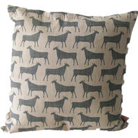 Skinny Laminx Cushion Covers Herds Slate Grey