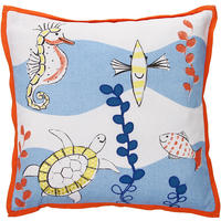 Designers Guild - Whale of a Time Cushion - 40x40cm
