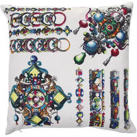 Christian Lacroix - La Main Au Collet Bouganvillier Cushion - 50x50cm