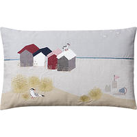 John Lewis Beach Scene Cushion