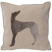 Greyhound with Cowhide Cushion - last one 20% off