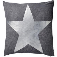 Bloomingville - Star Print Cushion - Silver