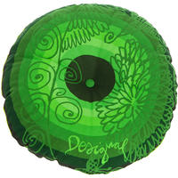 Desigual - Galactic Fair Round Cushion - Verde