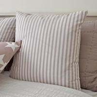 Dusky Pink Stripe Cushion