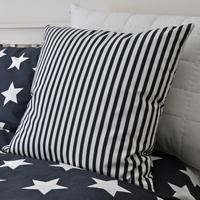 Navy Blue Stripe Cushion