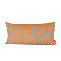 Neon Herringbone Cushion