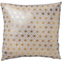 Stars Copper Print Cushion