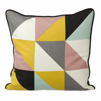 Yellow Remix Cushion