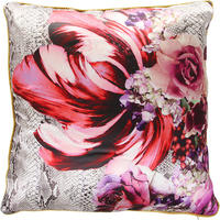 Roberto Cavalli - Bouquet Pyton Silk Cushion - 003 - 60x60cm
