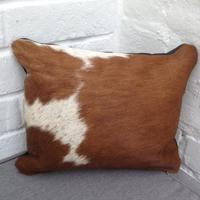 Cowhide Cushion - M18