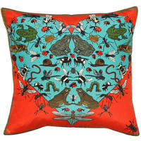Silken Favours - I Love The Beetles Cushion