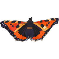 Silken Favours - Monarch Butterfly Cushion