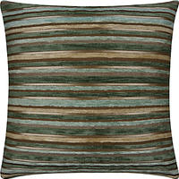 John Lewis Gilded Stripe Cushion Duck Egg