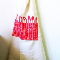 Skinny Laminx Aprons Borrowed Spoons Red