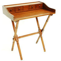 St Andrews Mahogany Writing Desk
