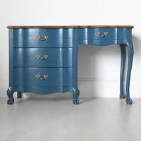 French Desk in Blue