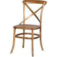 Rayleigh Wooden Cross Back Dining Chair