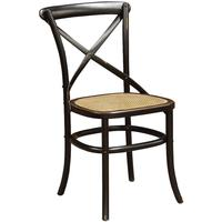 Rayleigh Black Cross Back Dining Chair