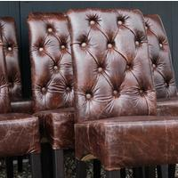 'You Choose the Leather' Parliament Dining Chair