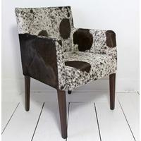 'You Choose the Cowhide'  Chelsea Carver Dining Chair