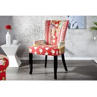 PRINTEMPS - design patchwork chair floral dining chair