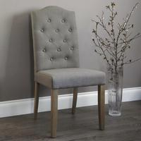 Button Back Dining Chair