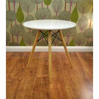 Eames Style Dowel Cafe Dining Table (reproduction)
