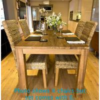 The 'Malimbu' Reclaimed Teak Wood Dining Set