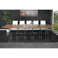 Dante extendable 170-270cm walnut dining table