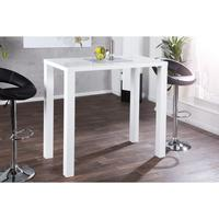 Lima - white gloss dining table 120cm