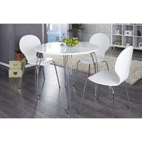 Simplex - white high gloss kitchen table