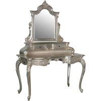 Sylvia Silver Grande Dressing Table