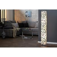 ROME FLORAL - design floor lamp 120cm floral shade standing light