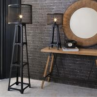 Industrial Mesh Architectural Floor Lamp