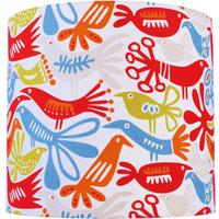 Lampshade designer fabric in choice of two designs