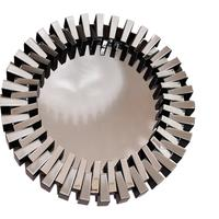 Milano Round Shape Wall Mirror