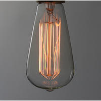 Large Squirrel Cage light bulb. 40w. 3000hrs