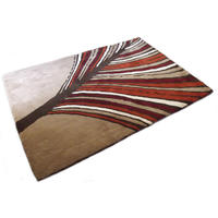 Palm Frond Rug