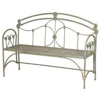 Pea-Green Regal Garden Bench