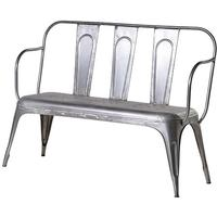 Grey Iron Bench