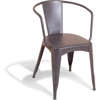 Manhattan Industrial Chair - Slate Grey
