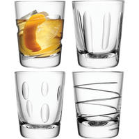 LSA Charleston Tumbler Glasses Set of 4