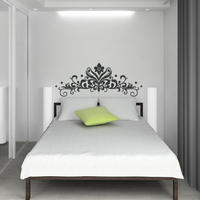 Baroque Headboard 2 - Spin Wall Stickers