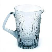 Handmade Portuguese glass Jug - Grey