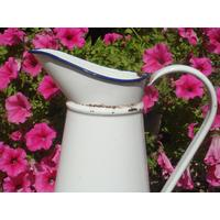 White French Pitcher