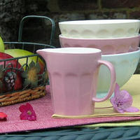 French Style Milk Jug/Creamer - Rose